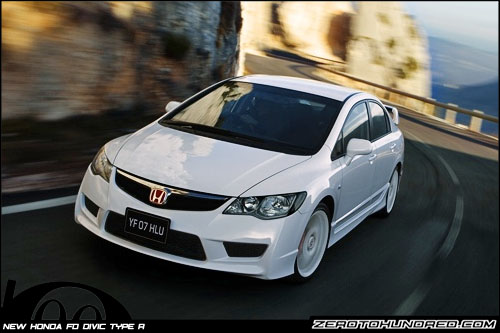 New Honda Civic FD Type R Launched in Japan