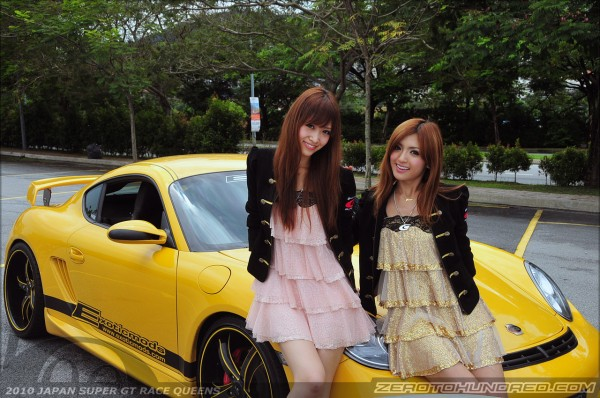 Meets The Japan Supergt Racequeens And Some Exotics