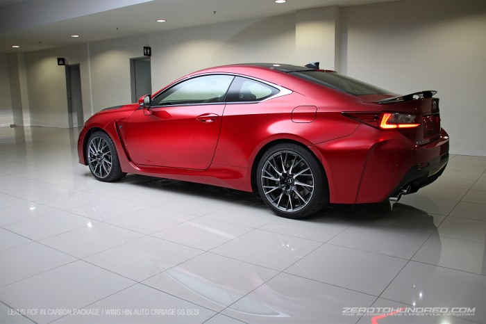 lexus rcf carbon wing in auto carriage IMG_70122